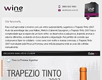 E-mail marketing: Trapezio Tinto 2007