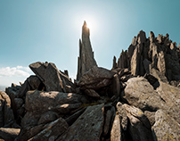 The Rocks of Glyder Fach