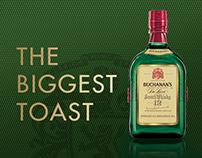 Buchanan´s The Biggest toast. Premiere de historias.