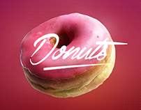 Donuts | Webdesign