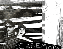 Gig Poster for Ceremony (USA) Live in Singapore