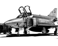 RF-4C Phantom II Drawing