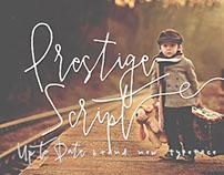 Prestige Script - Signature Font