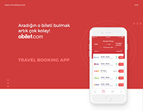OBilet | Travel Booking App Redesign