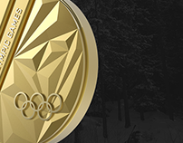 Lillehammer 2016 Youth Olympic Games Medal Design