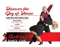 Boleros Dance Club Redesign