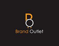 Simple BO Brand Outlet Logo Design