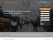 New Landing Page Designs 2017