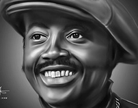 Donny Hathaway Digital Art by Wayne Flint