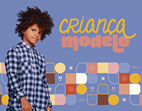 Criança Modelo | Logotipo | Identidade Visual