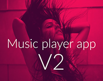 Music player v2 - Day 20 #180daysofui