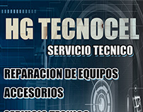 HG TECNOCEL - FLYER AND BANNER