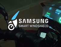 "Samsung ""Smart Windshield"""