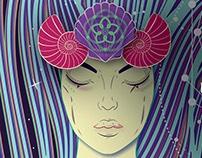 S.E.A - Spirit Evolution Atmosphere   Event Poster