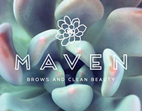 Maven Beauty Bar - Logo Design
