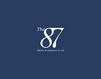 The87 coworking | Branding | Logo