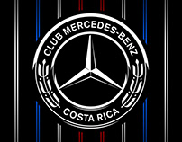 LOGO CLUB MERCEDES-BENZ CR