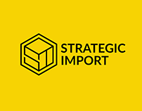 Strategic Import logo design