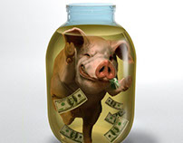 The money-box