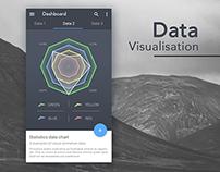 Statistics Data Chart - Android app