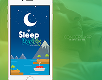 Concept Design | Sleep Buddy Mobile App