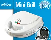 Mini Grill Powner - Renovação de Linha