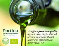 Social Media Graphics   Porthia Organic Olive Oil, Gree