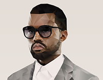 Kanye West Digital Illustration
