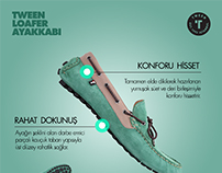 Tween Newsletter & Social Media Shoes Graphic Design