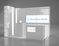 Modular stand exhibition for Bristol Myers Squibb