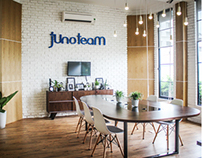 JUNOTEAM OFFICES • A DESIGN COMPANY
