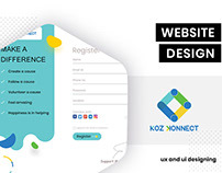 UI Design - KozKonnect