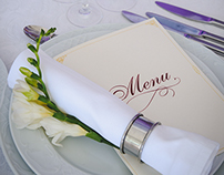 Photography of wedding decorations