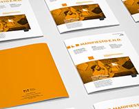 2017 | EDITORIAL DESIGN | MANIFIESTO E.N.D.