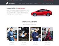 Mechanic WordPress Theme - Workshop Team
