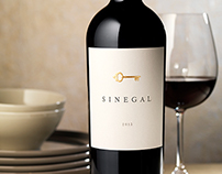 Sinegal Estate Wine Label & Package Design