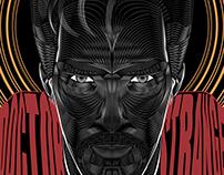 Doctor Strange- Vector Poster