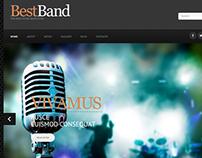 Best Band Joomla Template