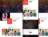 Hijabians UI / UX desgin