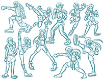 Sakura Streetfighter Redesign