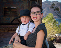 Wyatt Portraits, Nelson Ghost Town, Nevada