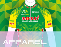 Design and Branding of Cycling Kit