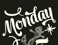 Monday -typeface