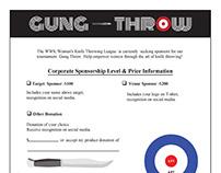 Gun Throw Logo & Forms