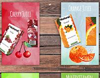 Fruit Juice - Branding & Package Design