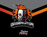 Gingernator Logo design
