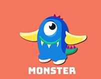 Monster Vector design