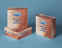 sensory packaging for durex