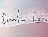 QUAKE LOVE - FREE HANDMADE CALLIGRAPHY FONT