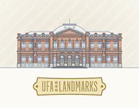 Ufa landmarks